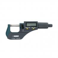 Микрометър за външно мерене FERVI 0-25мм, дигитален, точност 0.003мм