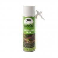 Полиуретанова ръчна пяна TKK Garden Landscaping Foam 500мл, за изграждане и поправка на каменни стени и елементи