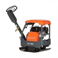 Реверсивна виброплоча HUSQVARNA Construction LG 164, 3.6kW, 28kN, 350х654мм