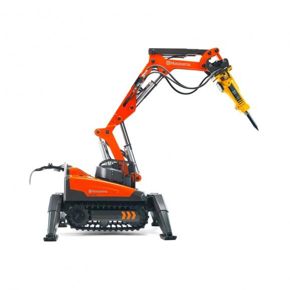 Робот за къртене и пробиване HUSQVARNA Construction DXR 140, 15kW, обсег 3.7м-нагоре/3.7м-напред