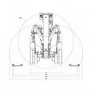 Робот за къртене и пробиване HUSQVARNA Construction DXR 140, 15kW, обсег 3.7м-нагоре/3.7м-напред - small, 141490