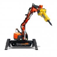 Робот за къртене и пробиване HUSQVARNA Construction DXR 300, 22kW, обсег 5.2м-нагоре/4.9м-напред