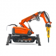 Робот за къртене и пробиване HUSQVARNA Construction DXR 310, 22kW, обсег 5.5м-нагоре/5.2м-напред