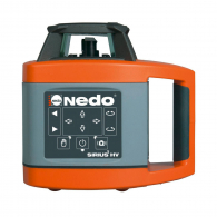 Ротационен лазерен нивелир NEDO SIRIUS 1 HV, червен лазер клас 2, обхват 300m, точност 1mm/10m, автоматично