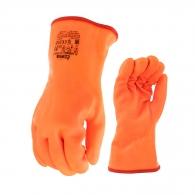 Ръкавици FLAMINGO, памучно трико, топени в PVC/полиуретан