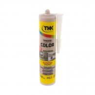 Силикон неутрален TKK Tekasil Color 300мл-бежов бахама, за уплътняване на фуги в бани, кухни, душ кабини, мивки и други
