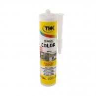 Силикон неутрален TKK Tekasil Color 300мл-бял, за уплътняване на фуги в бани, кухни, душ кабини, мивки и други