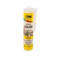Силикон неутрален TKK Tekasil Color 300мл-прозрачен, за уплътняване на фуги в бани, кухни, душ кабини, мивки и други