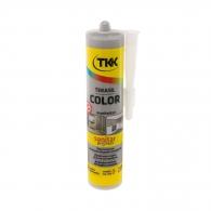 Силикон неутрален TKK Tekasil Color 300мл-светлосив, за уплътняване на фуги в бани, кухни, душ кабини, мивки и други