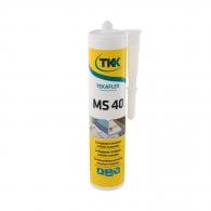 Строително лепило-уплътнител TKK Tekafleks MS 40 290мл - антрацит, RAL7016