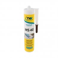 Строително лепило-уплътнител TKK Tekafleks MS 40 290мл - кафяв, RAL8016