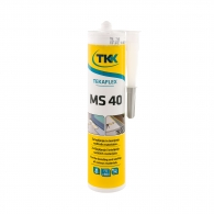 Строително лепило-уплътнител TKK Tekafleks MS 40 290мл - светло сив, RAL7035