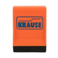 Тапа за основа KRAUSE 64x25мм, оранжева, за стълби от серията MONTO