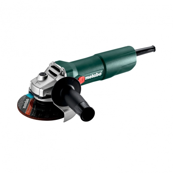 Ъглошлайф METABO W 750-125, 750W, 11500об/мин, ф125мм