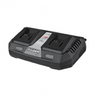 Зарядно устройство RAIDER RDP-R20 System 3Ah, 20V, Li-Ion, за две батерии