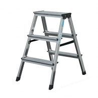 Алуминиевa стълба KRAUSE Dopplo 2х3, 450мм(на стълбата), двустранна, за домашна употреба, 150кг.