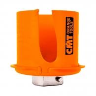 Боркорона с твърдосплавни пластини CMT FASTX4 68мм - с фрезенк, за дърво, пластмаса, тухла и суха стена, сухо пробиване