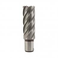 Боркоронa за магнитна бормашина ALFRA 25x100мм, за метал, HSS-Co 8%, захват Weldon 19мм