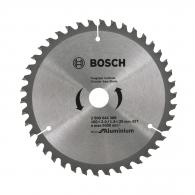 Диск с твърдосплавни пластини BOSCH ECO 160/2.0/20 Z=42, за рязане на алуминий