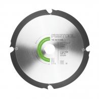 Диск с твърдосплавни пластини FESTOOL 160/2.2/20 Z=4, за рязане на талашитни и фазерни плоскости
