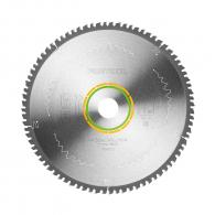 Диск с твърдосплавни пластини FESTOOL 260/2.5/30 Z=80, за рязане на единични или двойни едностранно ламинирани плоскости