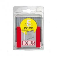 Гвоздей за такер NOVUS 1.2х14мм, тип J/E, 1000бр./блистер