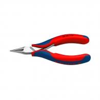 Клещи жустерни KNIPEX 115мм, прави, CrV, кръгли челюсти, двукомпонентна дръжка