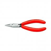 Клещи жустерни KNIPEX 125мм., прави, CS, полукръгли челюсти, еднокомпонентна дръжка