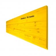 Платно кофражно DOKA 3S basic 27х500х2500мм, иглолистен материал, тройно слепено