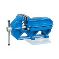 Менгеме шлосерско UNIOR Quick IRONGATOR 14.4кг, 125мм, чугунено, опция: въртяща основа