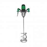 Миксер за строителни смеси HITACHI/HIKOKI UM16VST2, 1600W, 150-650об/мин, М14, комплект