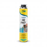 Полиуретанова пяна за лепене на изолация TKK TEKAPUR HQ Fast, 750мл, пистолетна, бързозалепваща