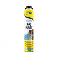 Пяна полиуретанова TKK TEKAPUR HQ Fast 750мл, за лепене на изолация, пистолетна, бързозалепваща