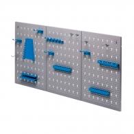 Стена за инструменти UNIOR 18части, 1192х595х20мм, перфорирана