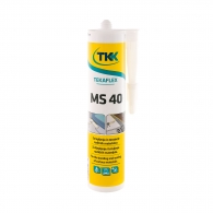 Строително лепило-уплътнител TKK Tekafleks MS 40 290мл - сигнално кафяв, RAL8002
