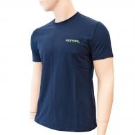 Тениска с къс ръкав FESTOOL T-Shirt XL, синя