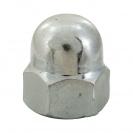 Гайка калпачата DIN1587 M4, кл.5, Zn, 4000бр. в кутия - small