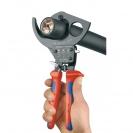Ножица за кабели KNIPEX 280мм, ф52мм, автоматична, двукомпонентна дръжка - small, 107305