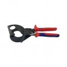Ножица за кабели KNIPEX 280мм, ф52мм, автоматична, двукомпонентна дръжка - small, 127196
