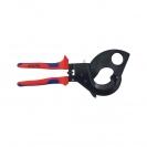 Ножица за кабели KNIPEX 280мм, ф52мм, автоматична, двукомпонентна дръжка - small, 127198