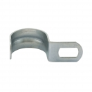 Скоба едностранна FRIULSIDER 50900 ф19мм, метална, 100бр. в кутия - small, 138752