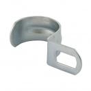 Скоба едностранна FRIULSIDER 50900 ф19мм, метална, 100бр. в кутия - small, 138753