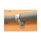 Скоба едностранна FRIULSIDER 50900 ф19мм, метална, 100бр. в кутия - small, 138757
