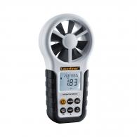 Анемометър LASERLINER AirflowTest-Master, обхват от 0.80 до 30м/с, точност ± 2%, -10°C до +60°C, точност ± 1.5°C