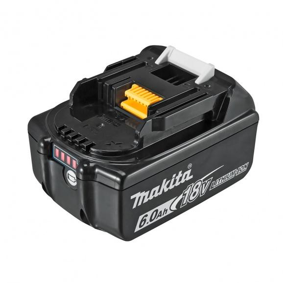 Батерия акумулаторна MAKITA BL1860B, 18V, 6.0Ah, Li-Ion