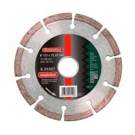 Диск диамантен METABO 125x2.0x22.23мм, за бетон, тухла и естествен камък, сухо рязане