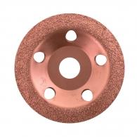 Диск карбиден наклонен BOSCH FEIN 115х22.23мм, за шлайфане на стомана, алуминий или цветни метали, фин