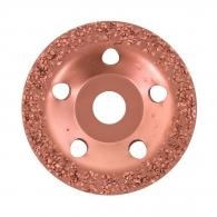 Диск карбиден наклонен BOSCH MITTEL 115х22.23мм, за шлайфане на стомана, алуминий или цветни метали, среден