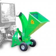 Дробилка за дърва и клони LASKI LS 95 T - за трактор, 80мм, 540-1000об/мин, 15-35к.с.