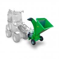 Дробилка за дърва и клони LASKI LS 95/GX – към трактор, 80мм, 389cм3, 11.7к.с, 8.7kW